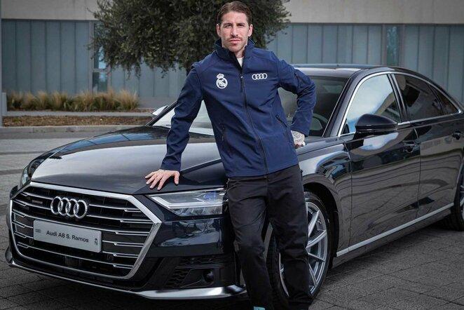"""Sergio Ramoso """"Audi A8"""" – 101,325 tūkst. eurų.   Instagram.com nuotr"""