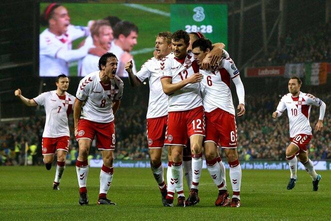 Pasaulio čempionato atranka: Airija - Danija (2017.11.14) | Scanpix nuotr.