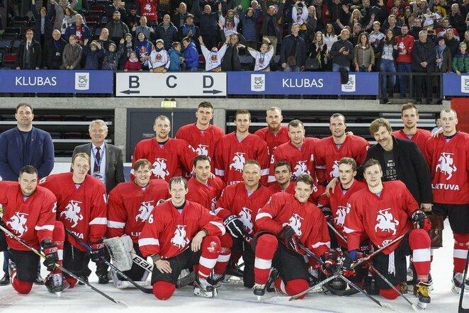 Lietuvos ledo ritulio rinktinė   hockey.lt nuotr.