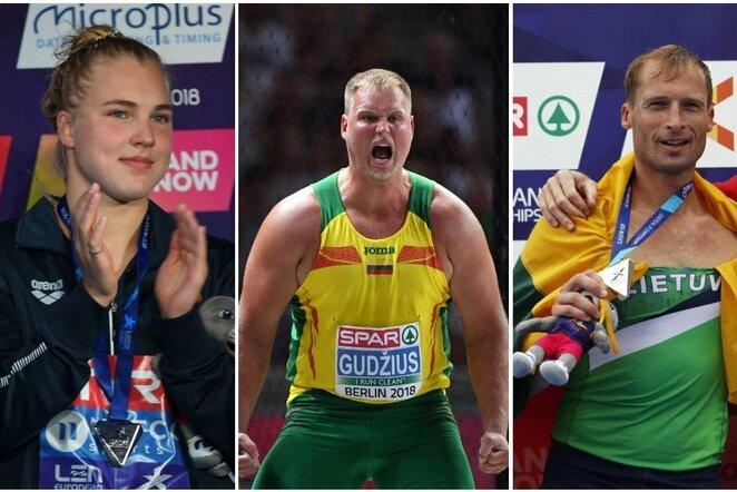 Lietuvos medalininkai | Scanpix nuotr.