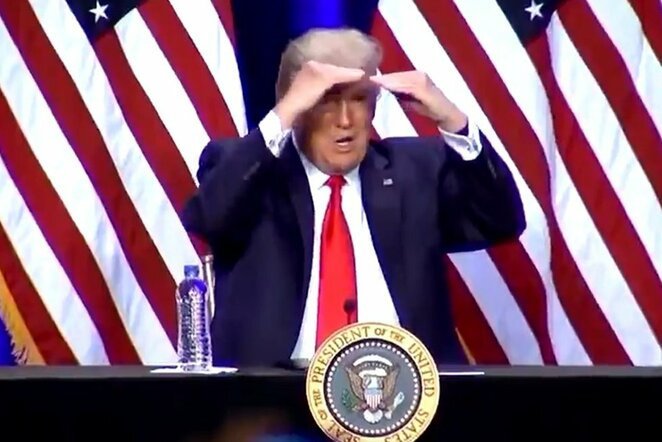 "Donaldas Trumpas | ""Twitter"" nuotr."