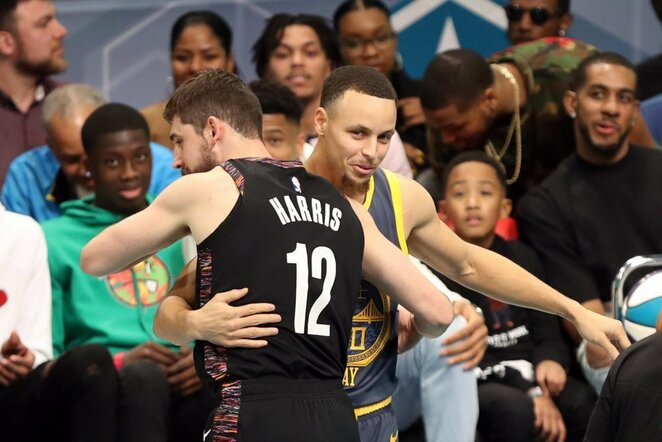 Harrisas ir Curry | Scanpix nuotr.
