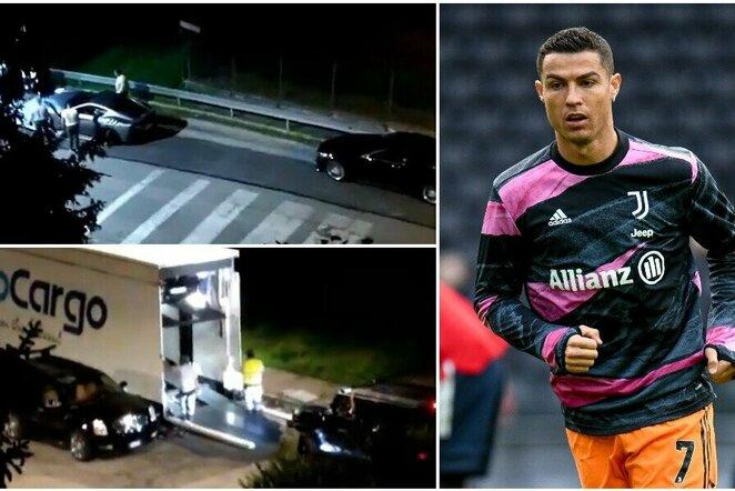 "Cristiano Ronaldo kraustosi   ""Scanpix"" ir instagram.com nuotr."