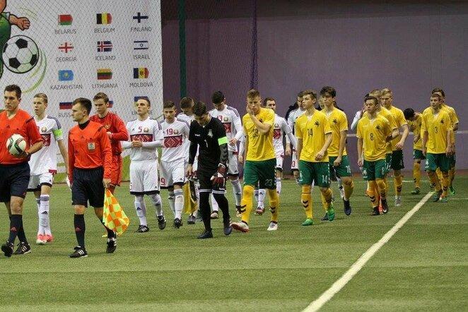 Lietuvos U-18 futbolo rinktinė | Organizatorių nuotr.