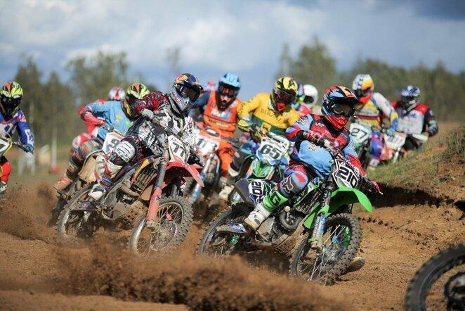 Lietuvos motociklų kroso čempionato etapas Utenoje   Organizatorių nuotr.