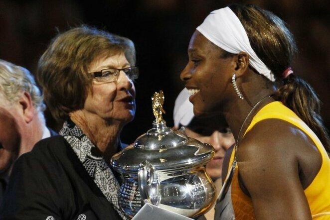 Margaret Court ir Serena Williams   Scanpix nuotr.