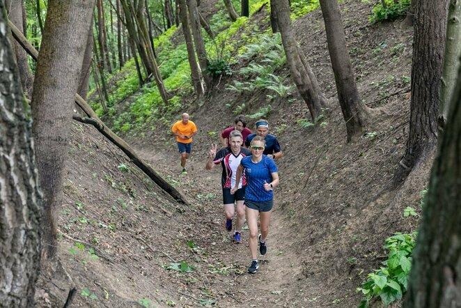 Nemokamose treniruotėse – galimybė įveikti visą Vilniaus 100 km trasą (Sauliaus Žiūros nuotr.) | Organizatorių nuotr.