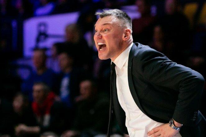 Šarūnas Jasikevičius | Žygimanto Gedvilos / BNS foto nuotr.
