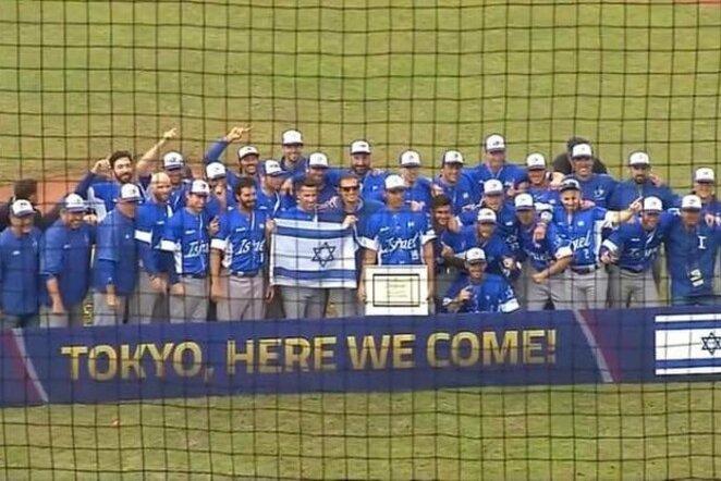 Izraelio beisbolo rinktinė | Organizatorių nuotr.