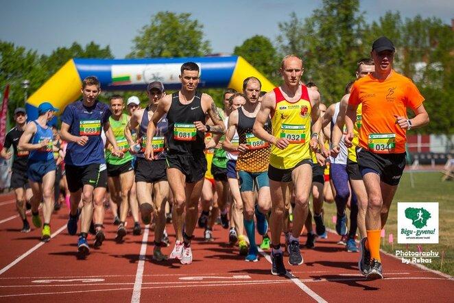 Bėgimas | Roko Lukoševičiaus/BNS Foto nuotr.