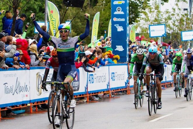"""Tour of Alberta"" penktojo etapo finišas | AP/Scanpix nuotr."