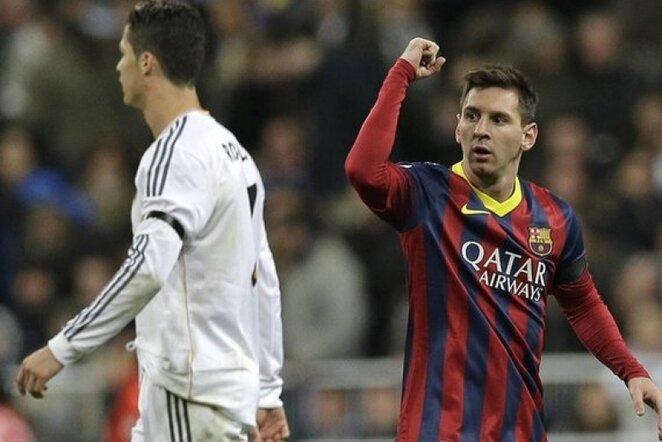 Lionelis Messi (deš.)   AP/Scanpix nuotr.