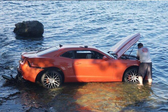 "Jermiah Braswello automobilis | ""Twitter"" nuotr."