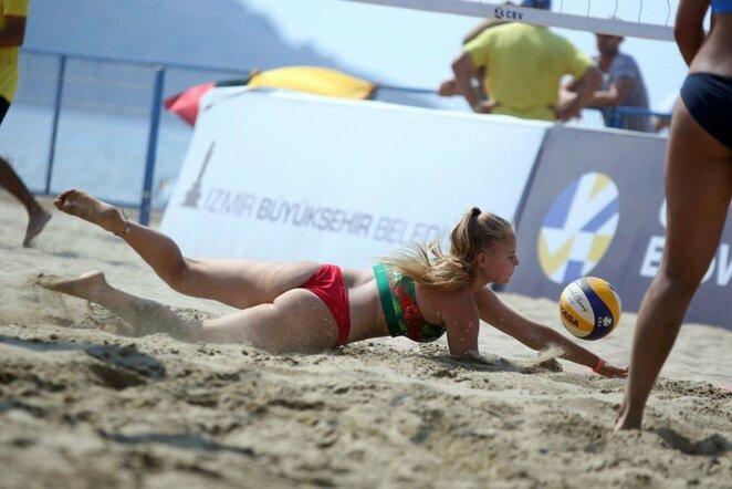 Europos jaunių paplūdimio tinklinio čempionatas | CEV nuotr.