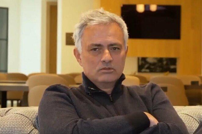 "Jose Mourinho   ""Twitter"" nuotr."