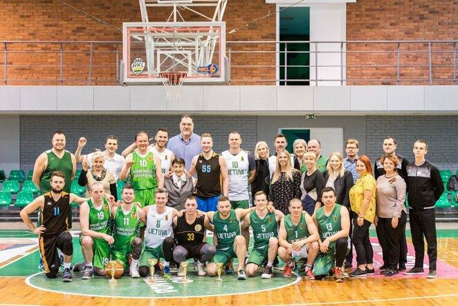 97-ojo krepšinio gimtadienio turnyre triumfavo LKF komanda | Lino Žemgulio nuotr.