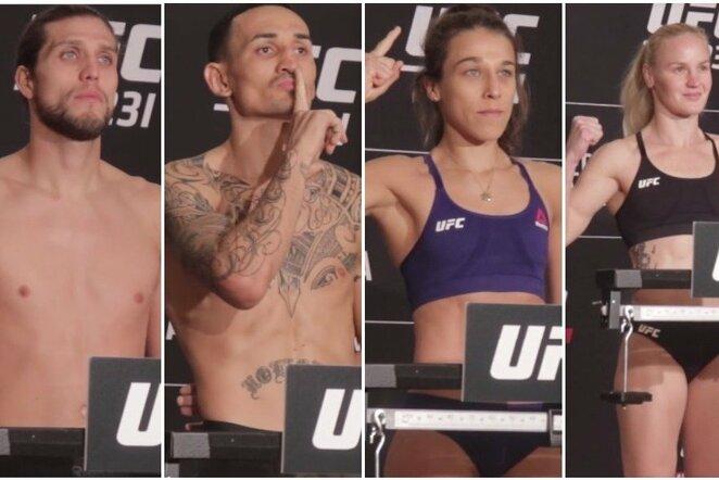 """UFC 231"" svėrimai | Youtube.com nuotr."