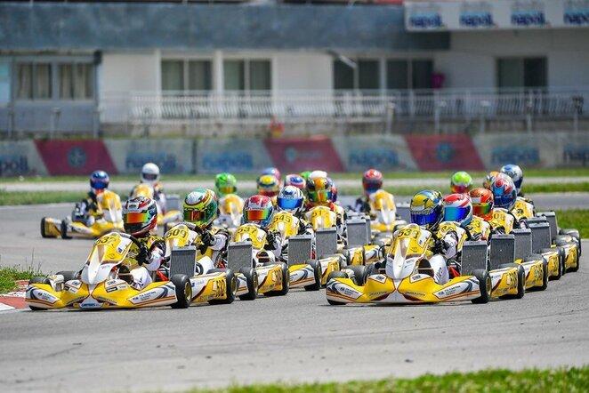 Kartingų lenktynės | Organizatorių nuotr.