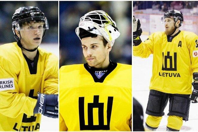 Ilja Četvertakas, Mantas Armalis ir Arnoldas Bosas | Josvydo Elinsko / BNS foto nuotr.