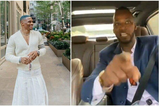 Russellas Westbrookas ir Kwame Brownas   Instagram.com nuotr
