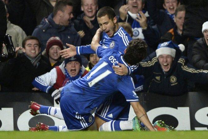 Edenas Hazardas išlygino rezultatą | Reuters/Scanpix nuotr.