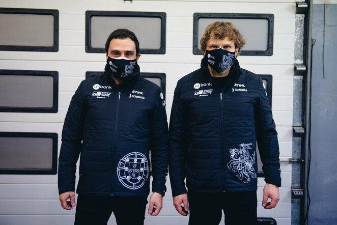 """""""Inbank Toyota Gazoo Racing Baltics"""" komandos išvykimas   Vytauto Pilkausko nuotr."""
