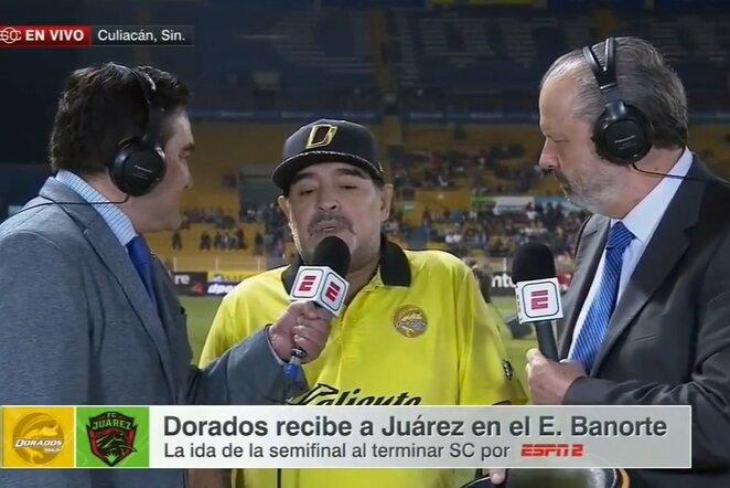 Diego Maradona | Youtube.com nuotr.