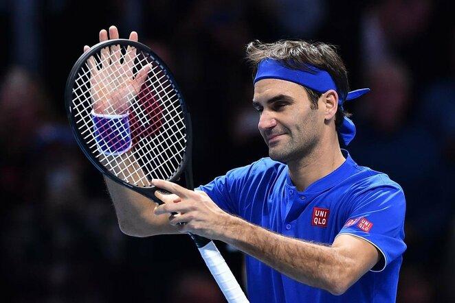 Rogeris Federeris prieš Dominicą Thiemą | Scanpix nuotr.