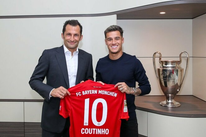 "Philippe'as Coutinho | ""Twitter"" nuotr."