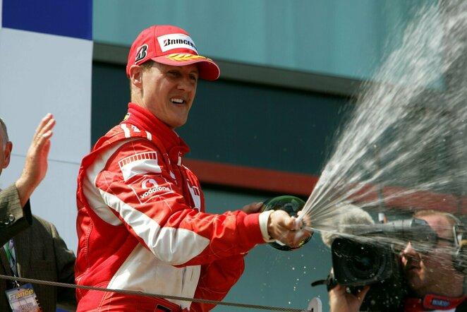 Michaelas Schumacheris | Scanpix nuotr.