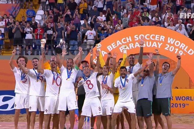 Portugalijos paplūdimio futbolo rinktinė | Youtube.com nuotr.