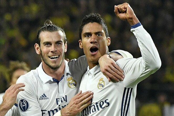 Garethas Bale'as ir Raphaelis Varane'as   Scanpix nuotr.