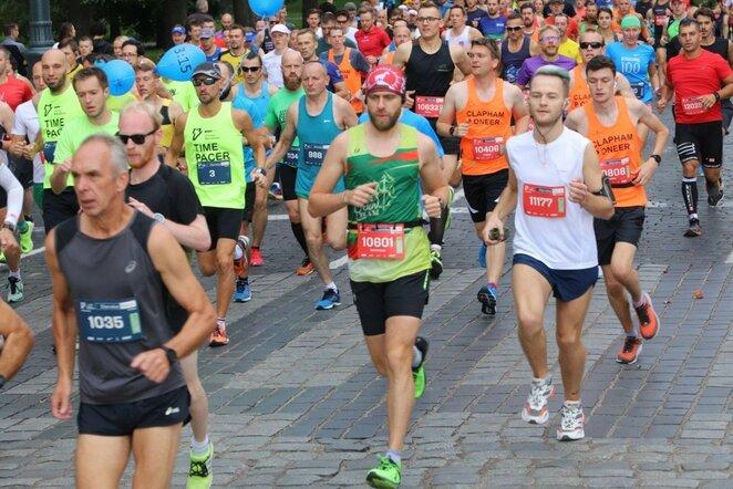 """Danske Bank Vilniaus maratonas""   Josvydo Elinsko / BNS foto nuotr."