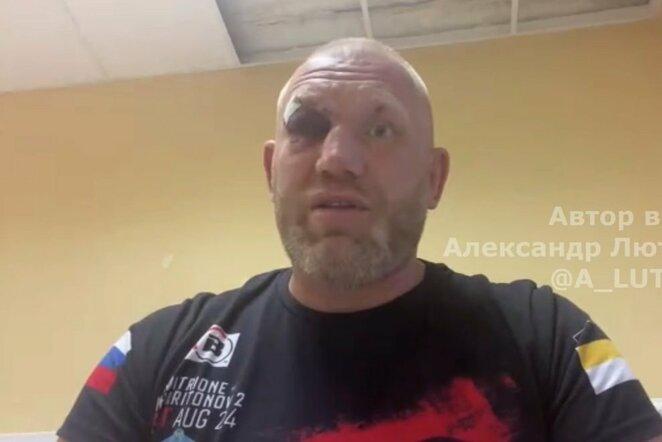 Sergejus Charitonovas   Youtube.com nuotr.