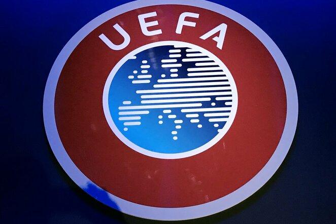 UEFA logotipas | Scanpix nuotr.