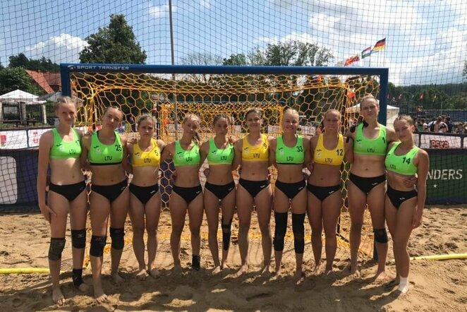 Lietuvos moterų paplūdimio rankinio rinktinė   rankinis.lt nuotr.