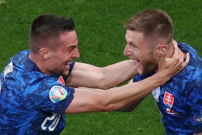 Slovakijos rinktinės triumfas | Scanpix nuotr.