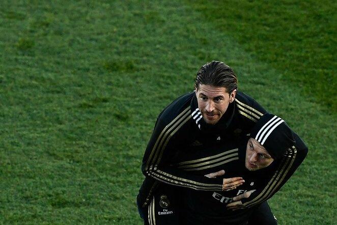 Sergio Ramosas ir Toni Kroosas | Scanpix nuotr.