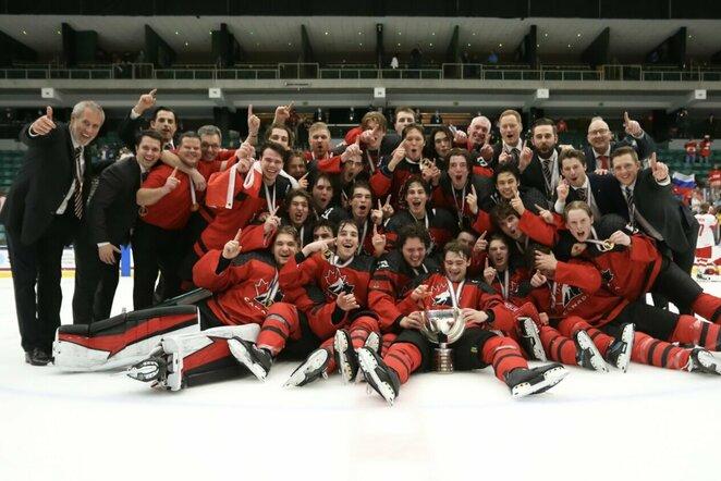 Kanados U18ledo ritulio rinktinė | IIHF nuotr.