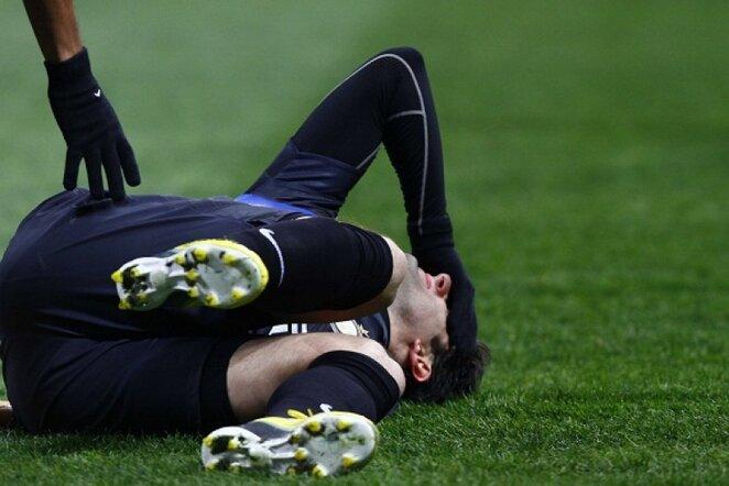 Diego Milito skausmo apimtu veidu | LaPresse/Scanpix nuotr.