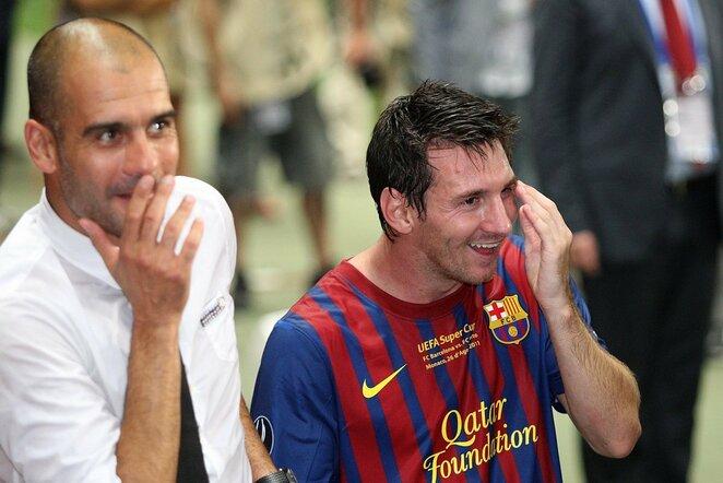 Pepas Guardiola ir Lionelis Messi | Scanpix nuotr.