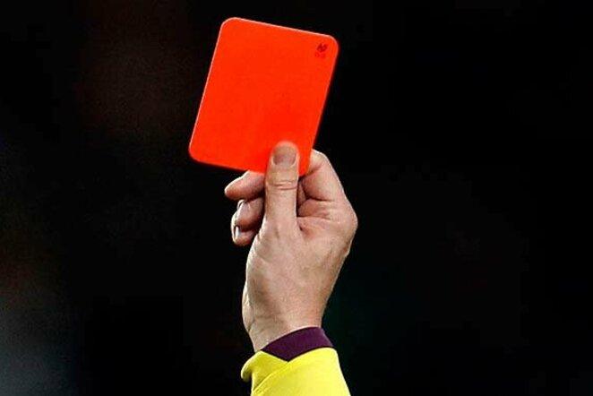 Raudona kortelė alyga.lt