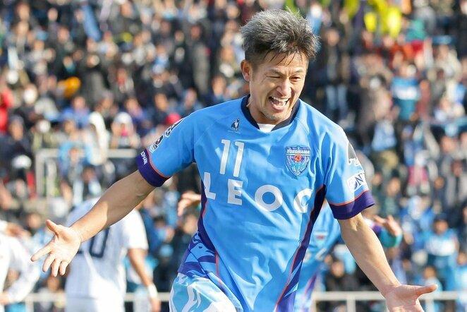 Kazuyoshi Miura | Scanpix nuotr.
