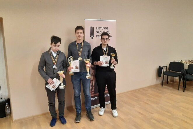 Turnyro nugalėtojai | Organizatorių nuotr.