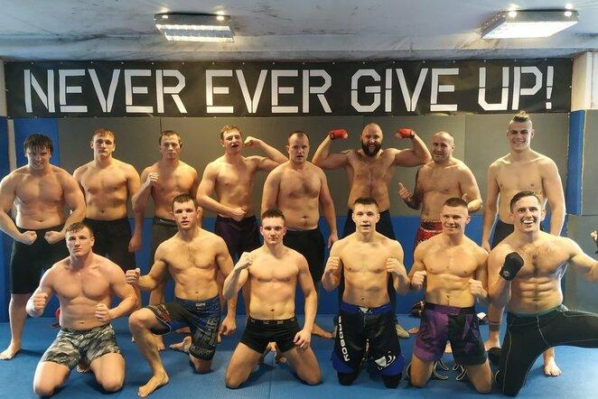 """""""ValeTudo"""" klube – geriausi Lietuvos MMA kovotojai nuo 77kg   Organizatorių nuotr."""