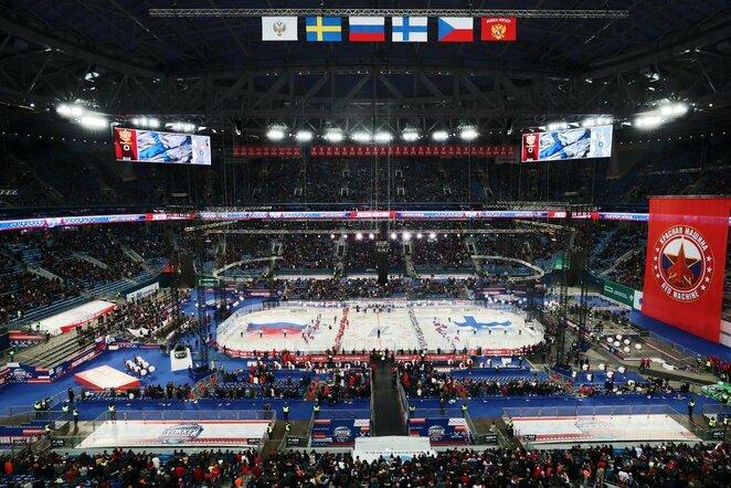 Rusų ir suomių rungtynės | Scanpix nuotr.