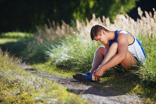 Bėgikų traumos | Organizatorių nuotr.