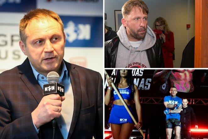Donatas Simanaitis, Egidijus Dragūnas ir Arnoldas Misiūnas | BNS nuotr.