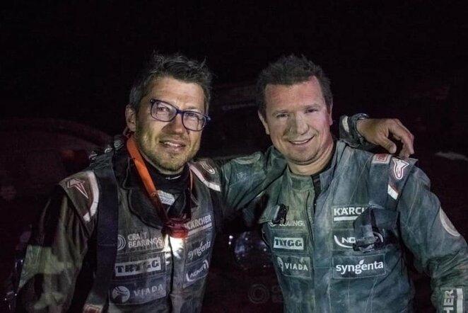 Darius Vaičiulis ir Antanas Juknevičius | Organizatorių nuotr.