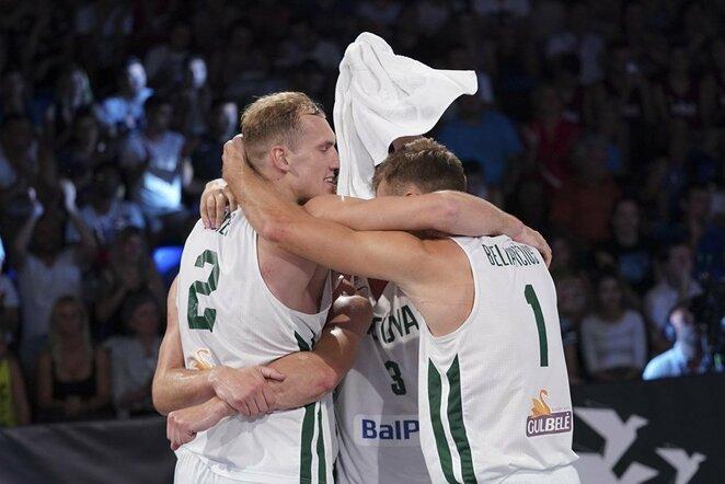 Lietuvos 3x3 krepšinio rinktinė | FIBA nuotr.